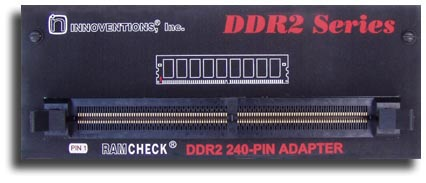 Ramcheck DDR2 Adapter Front